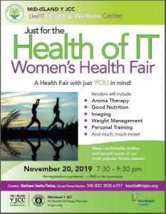 Member Event: Women's Health Fair @ Mid-Island Y JCC