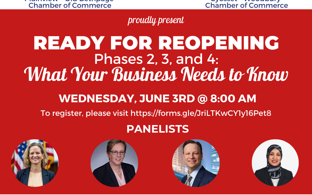 This Wednesday: Ready for Reopening Webinar